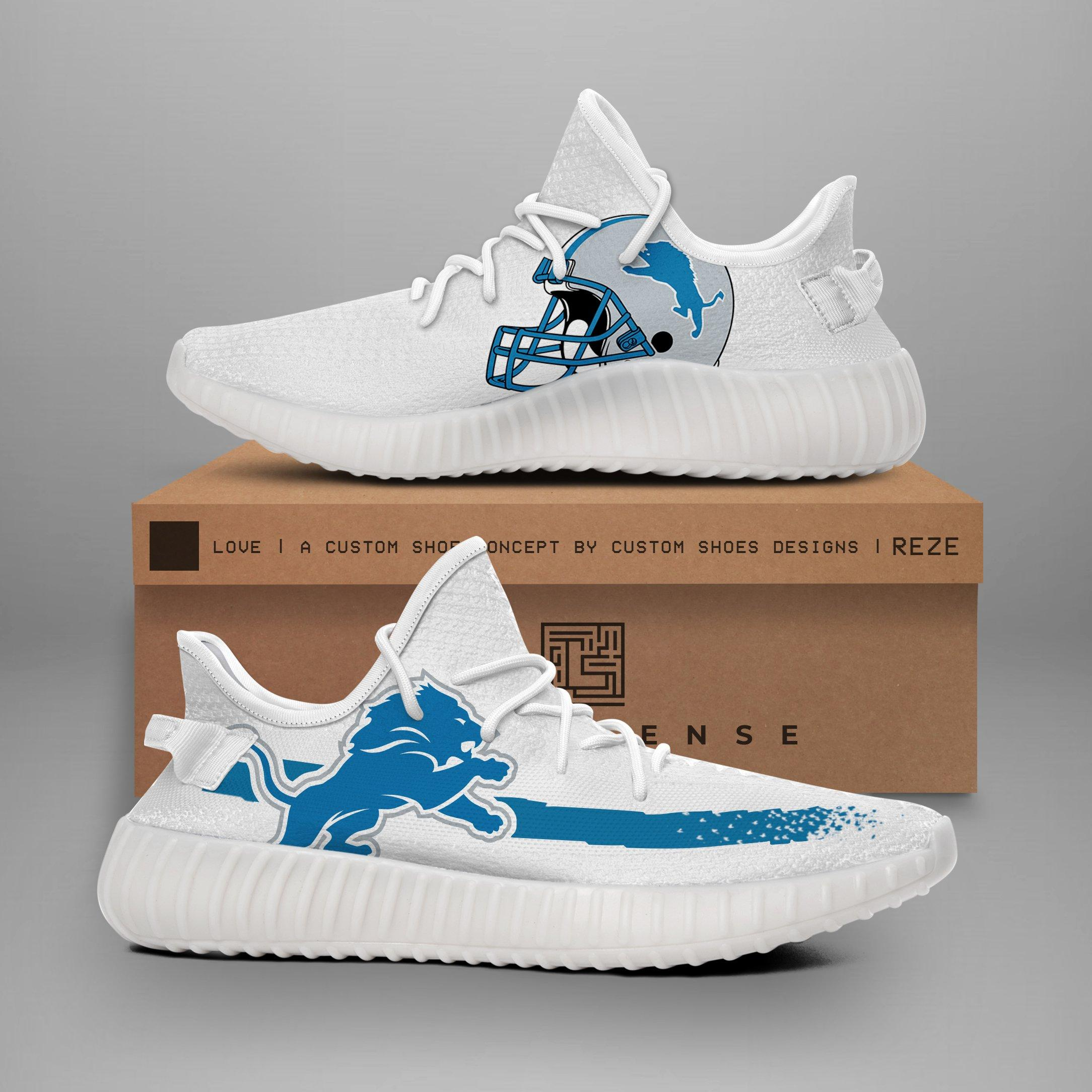 77d41da7 Detroit Lions NFL Teams Yeezy Boost 350 V2 Top Branding Trends 2019