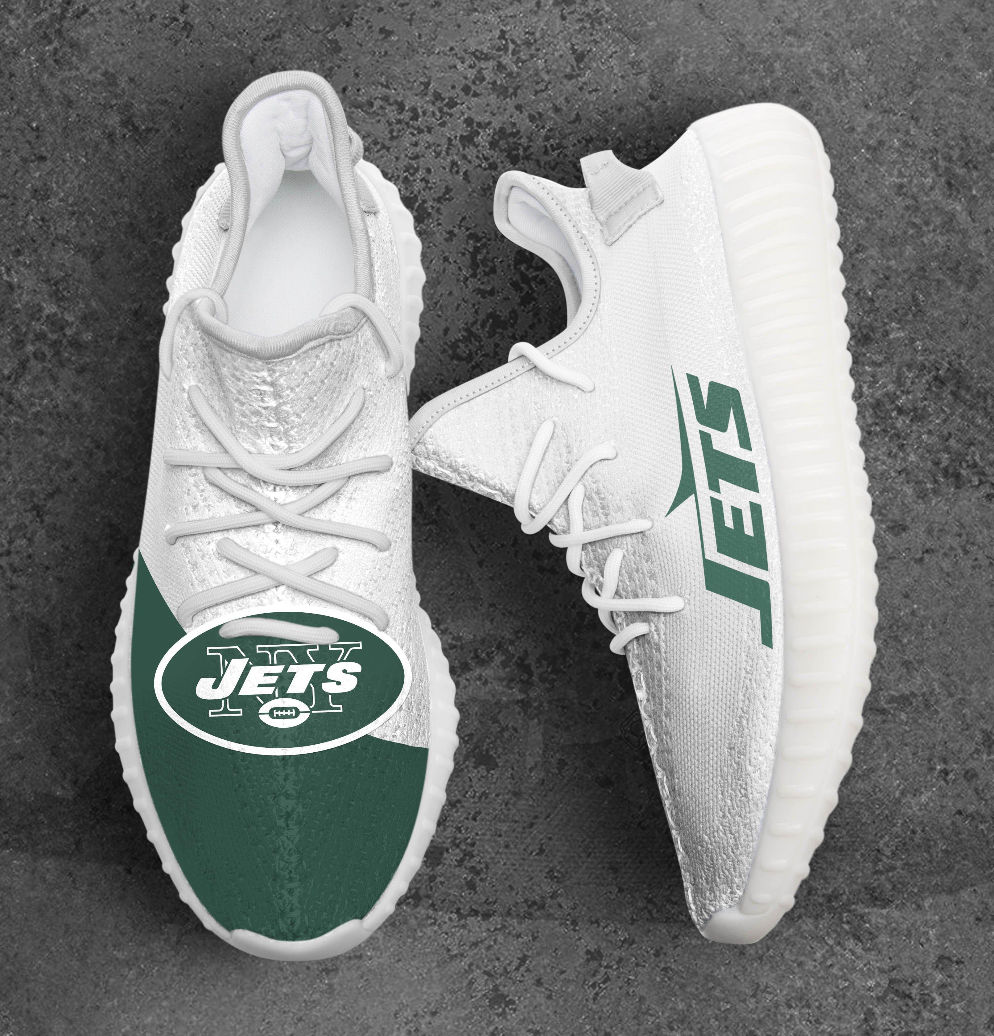 New York Jets NFL Sport Teams Adidas Yeezy Boost 350 V2 Top Branding Trends