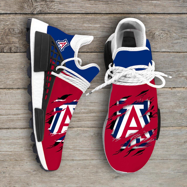 buy online dd8a7 efb58 Arizona Wildcats NCAA Adidas Sport Teams NMD Human Race Sneakers Trending  Brand Best Selling Shoes 2019