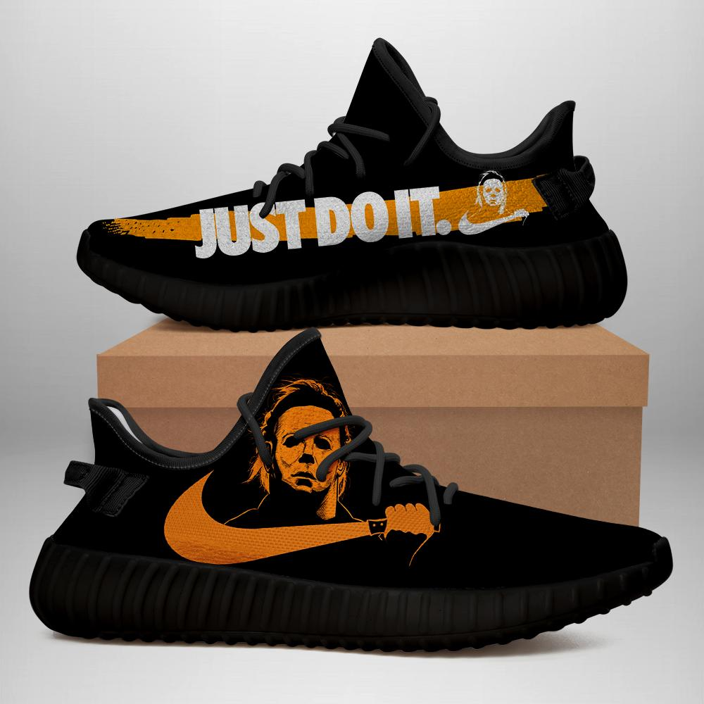 Michael Myers Yeezy Halloween Just Do It Yeezy Boost 350 v2 Shoes Top Branding Trends 2019