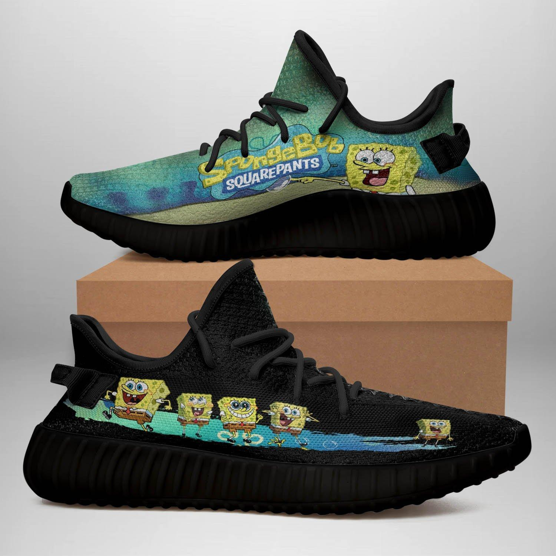 Spongebob Squarepants Yeezy Boost 350