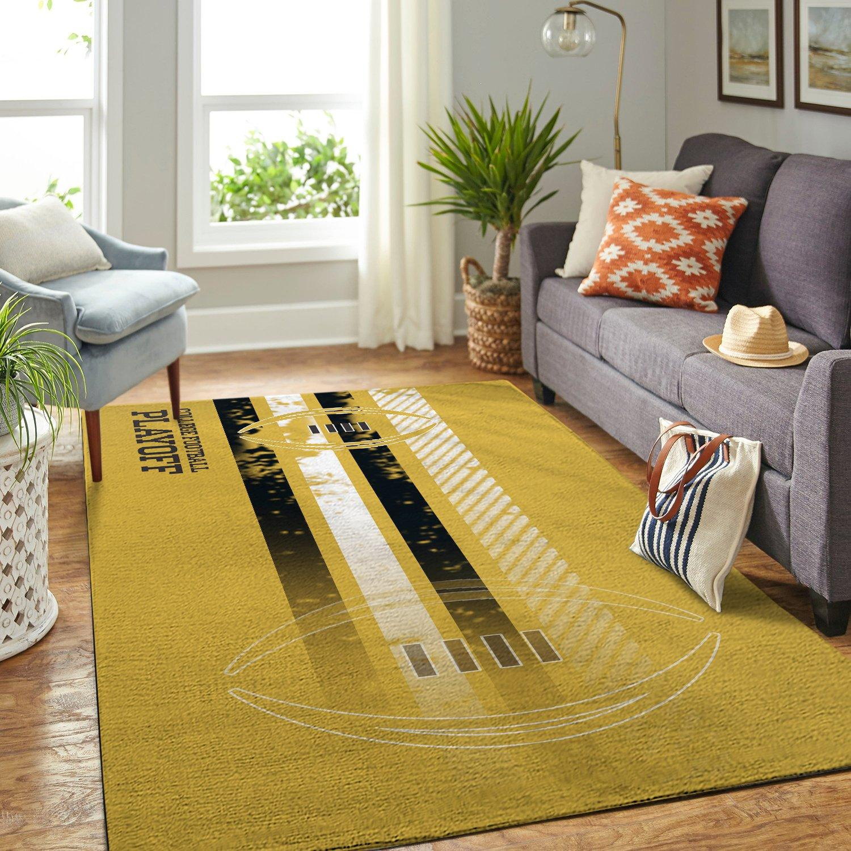 College Football Playoff NCAA Rug Room Carpet Sport Custom Area Floor Home Decor