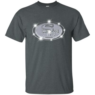 49ers Sparkle logo NFL football team T-Shirt