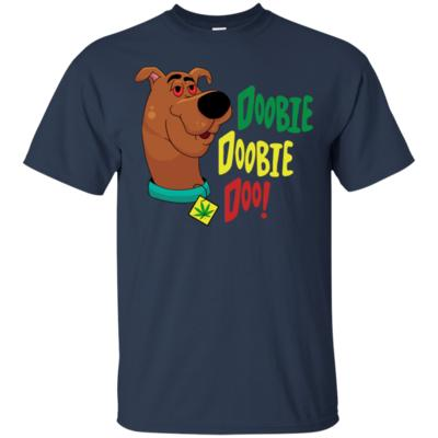 Doobie Doobie Doo Weed Scooby Doo Version T-Shirt
