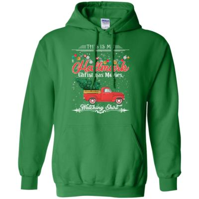 This Is My Hallmark Christmas Movie Watching Red Car Hoodie
