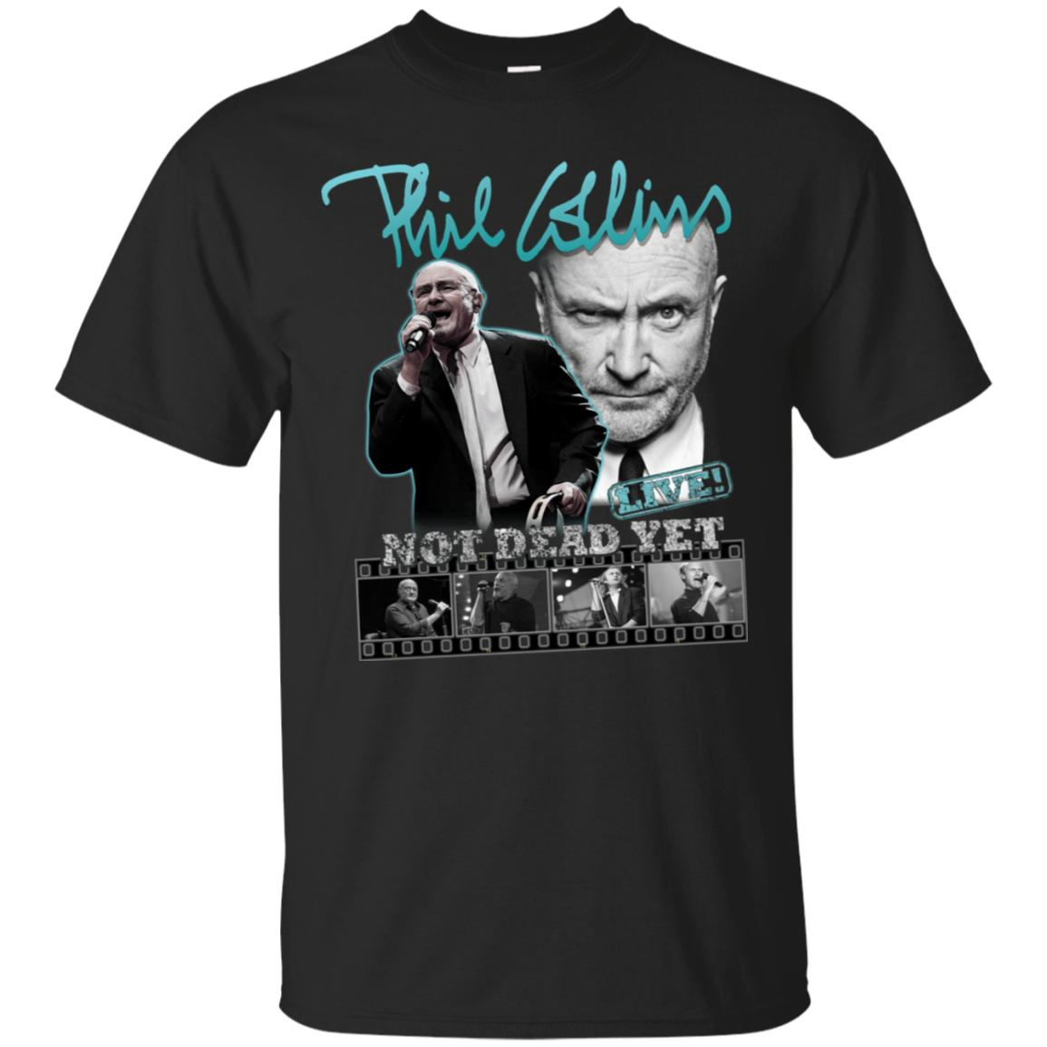 Phil Collins Not Dead Yet Live Tour Dates T-Shirt