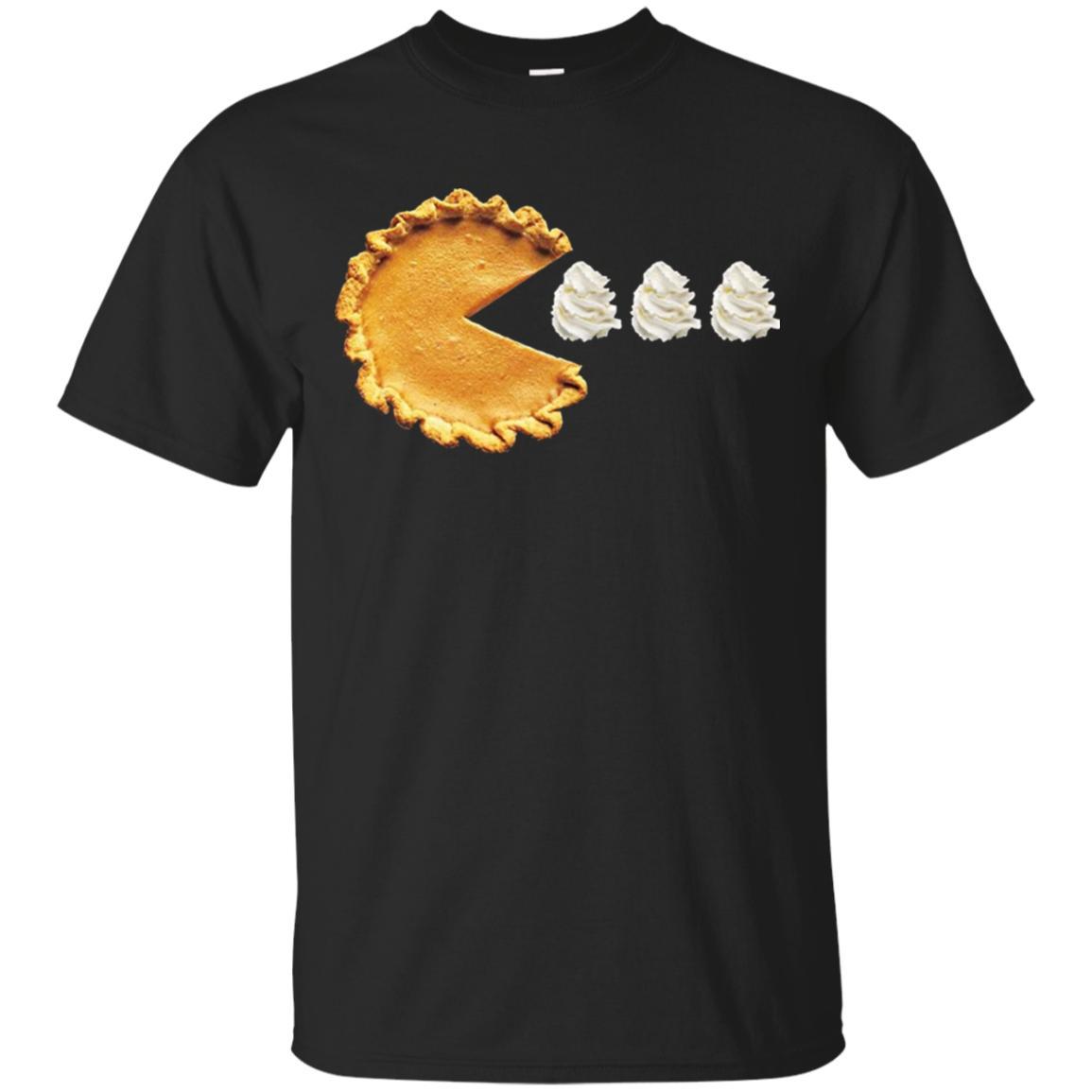 Pacman Pumpkin Pie Thanksgiving T-Shirt