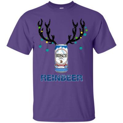 Busch Reinbeer Funny Beer Reindeer Christmas T-Shirt