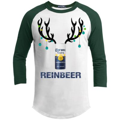 Corona Light Reinbeer Funny Beer Reindeer Christmas Sporty T-Shirt