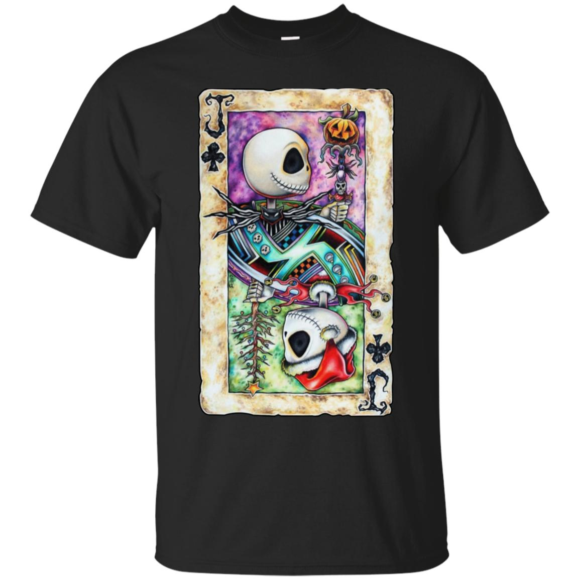Jack The Nightmare Before Christmas Poker T-Shirt