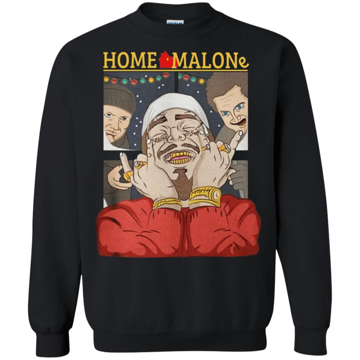 Home Malone Post Christmas Malone Funny Sweatshirt