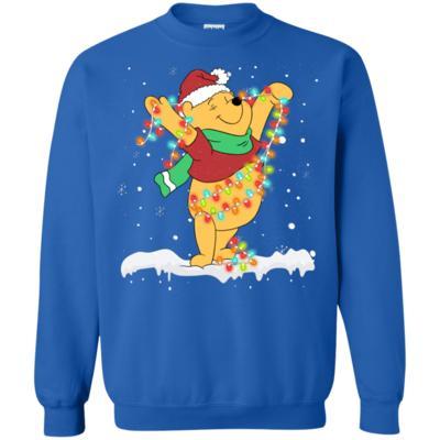 Pooh Winnie The Pooh Merry Christmas Sweatshirt