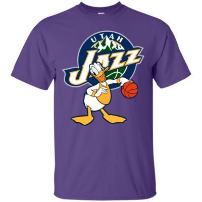 Donald Duck Love Jazz Basketball Team T-Shirt