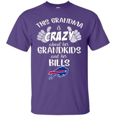 This Grandma Is Crazy About Her Grandkids And Her Bills T-Shirt