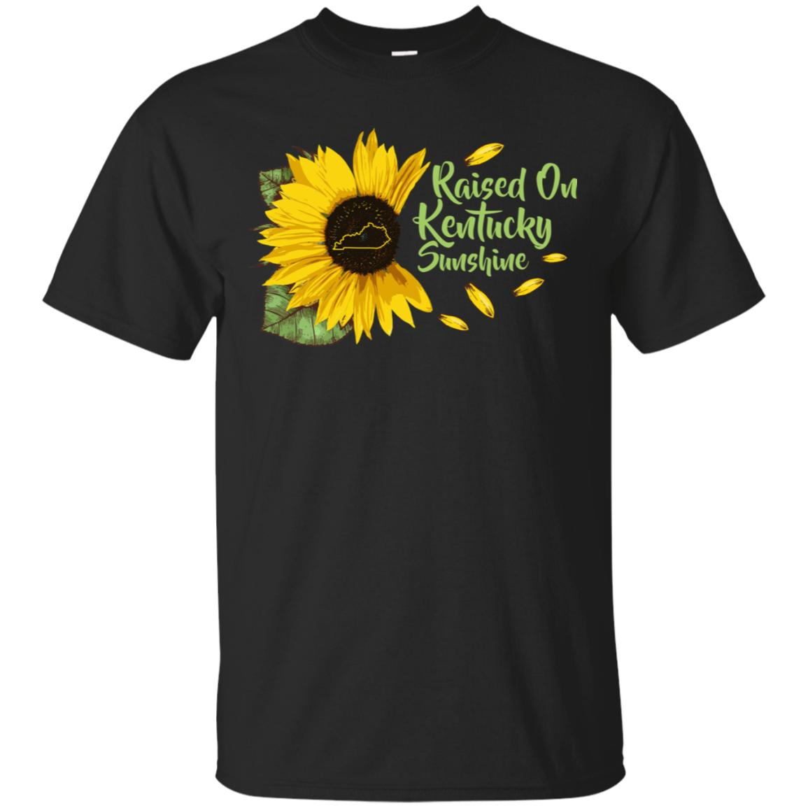 Raised On Kentucky Sunshine Sunflower Vintage T-Shirt