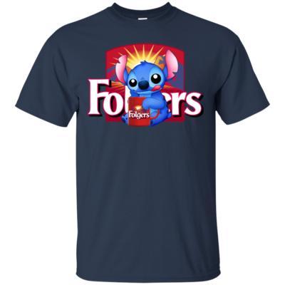 Stitch And Folgers Coffee Shirt VA02