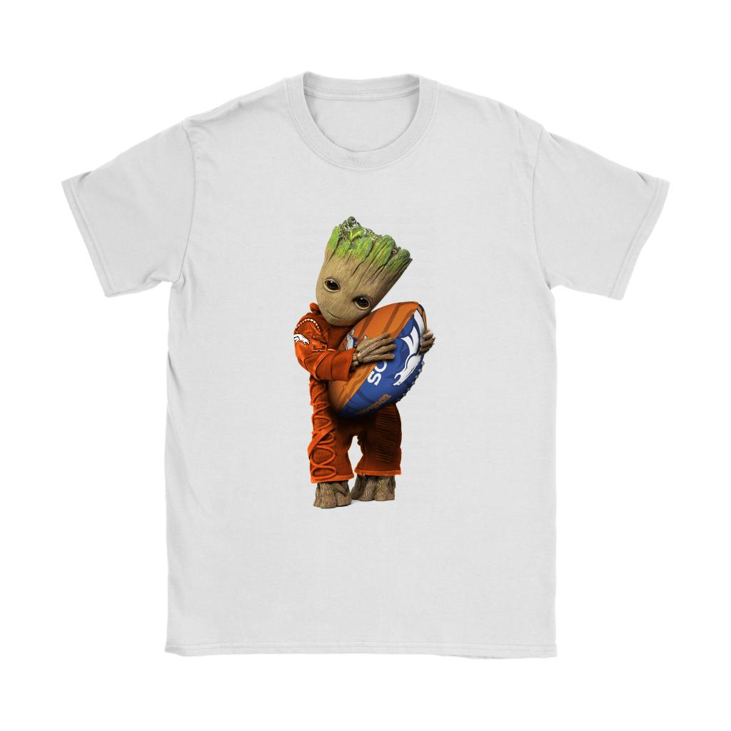 e7cc9cc1 3D Groot I Love Denver Broncos NFL Football Shirts