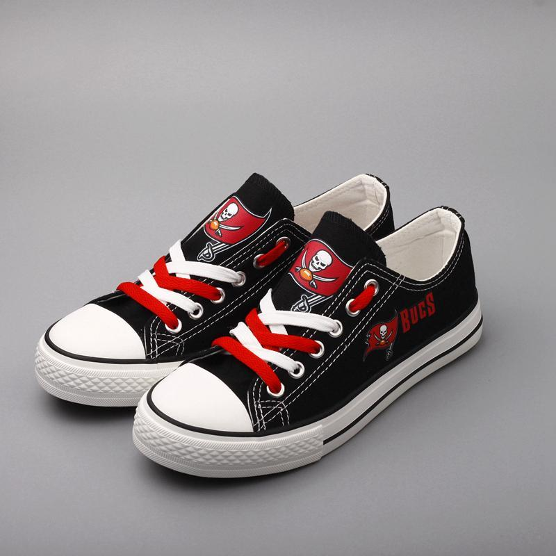 Tampa Bay Bucs Shoes Low Top Canvas