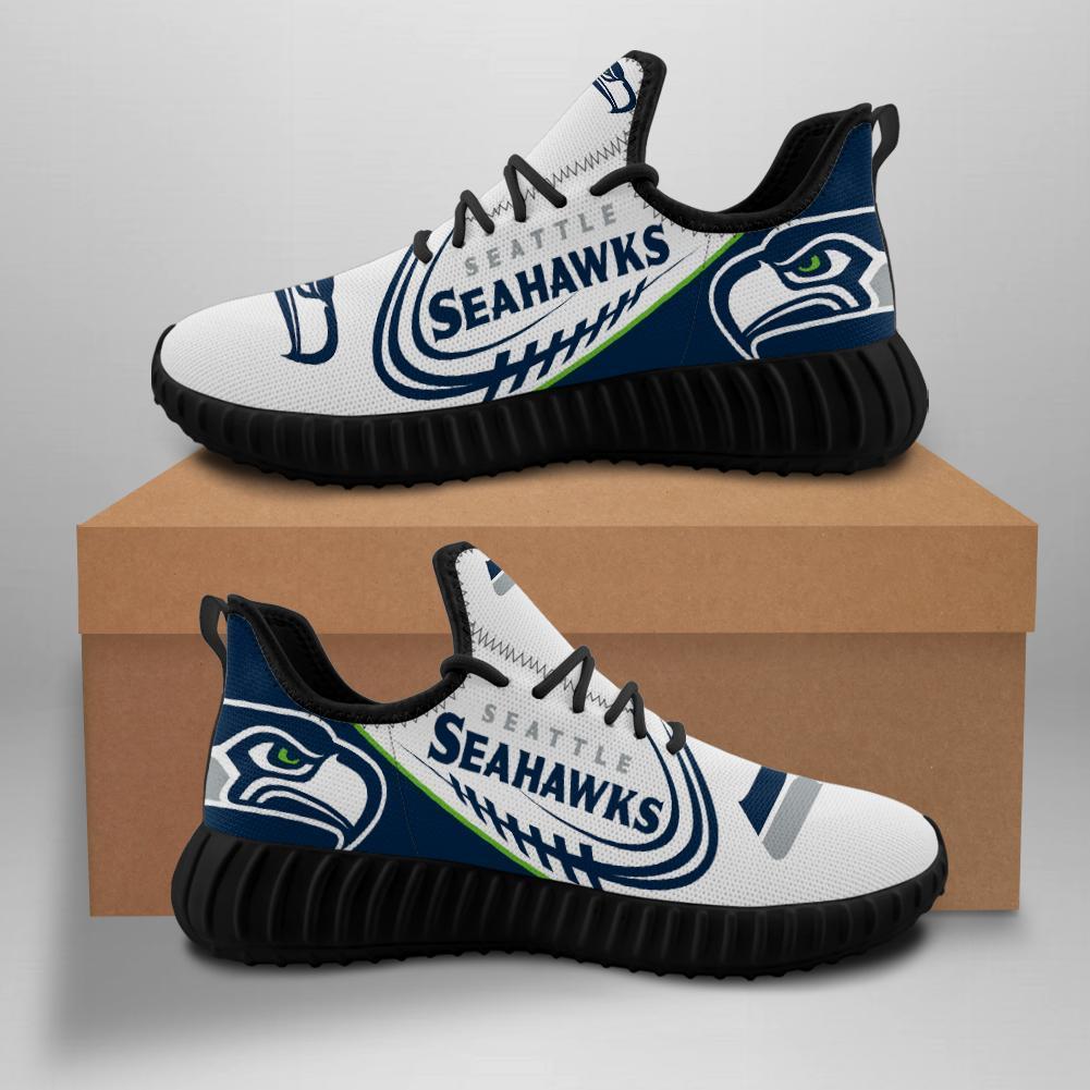 Seattle Seahawks Sneakers Big Logo Yeezy