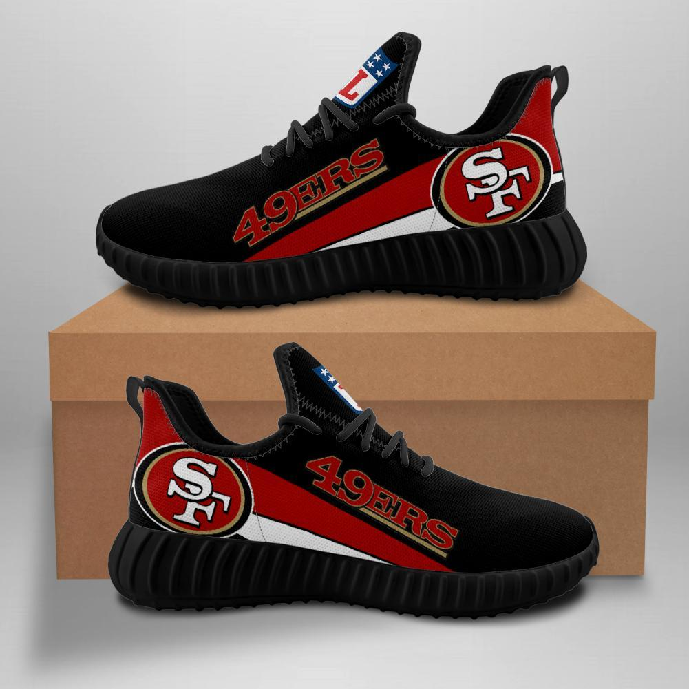 San Francisco 49ers Sneakers Yeezy Shoes Custom Style 2