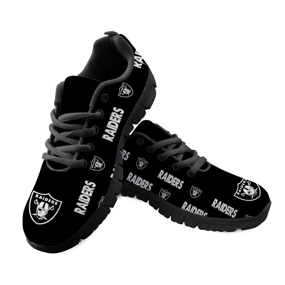 Running Shoes Cheap Oakland Raiders Shoes Sneakers Lightweight Super Comfort-running