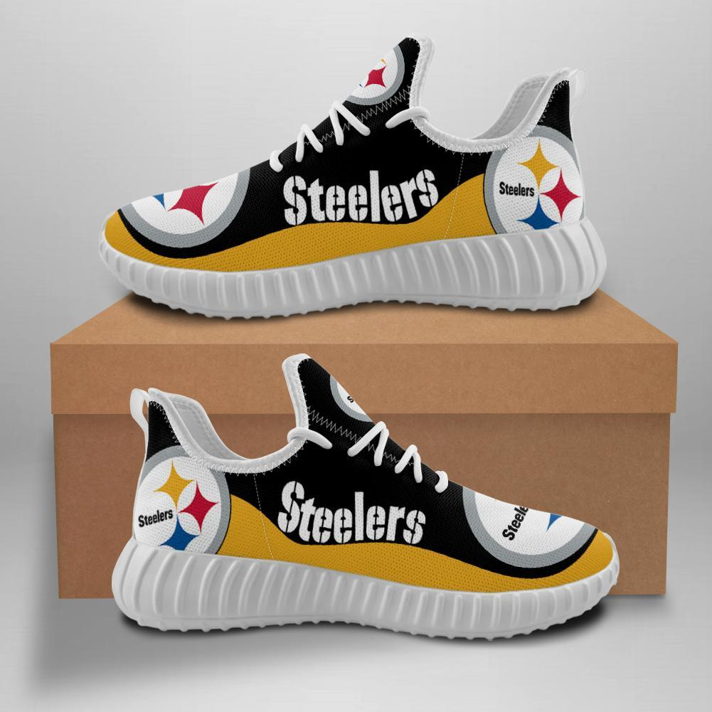 Pittsburgh Steelers Women'-s Sneakers Yeezy