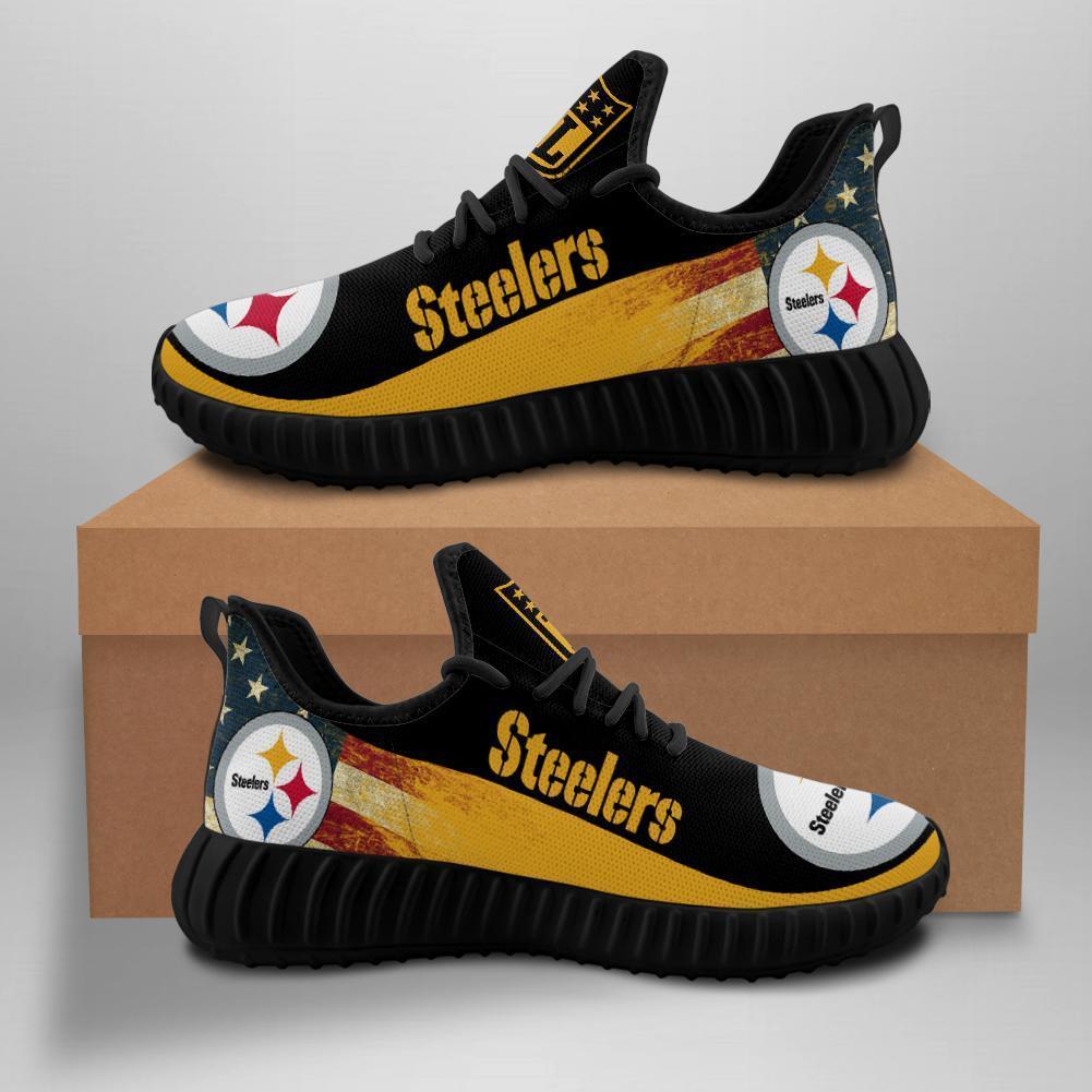 Pittsburgh Steelers Sneakers Yeezy Shoes Custom-0053