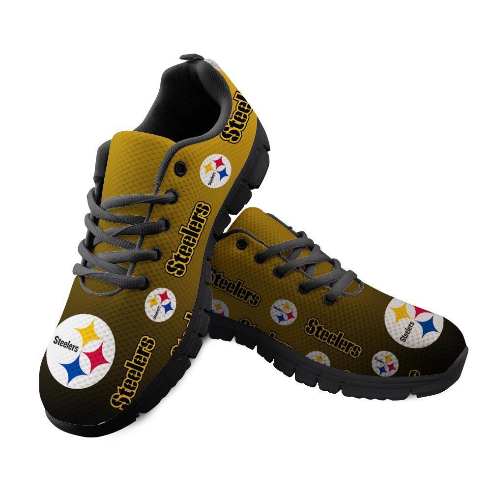 Pittsburgh Steelers Sneakers Repeat Print Logo Low Top