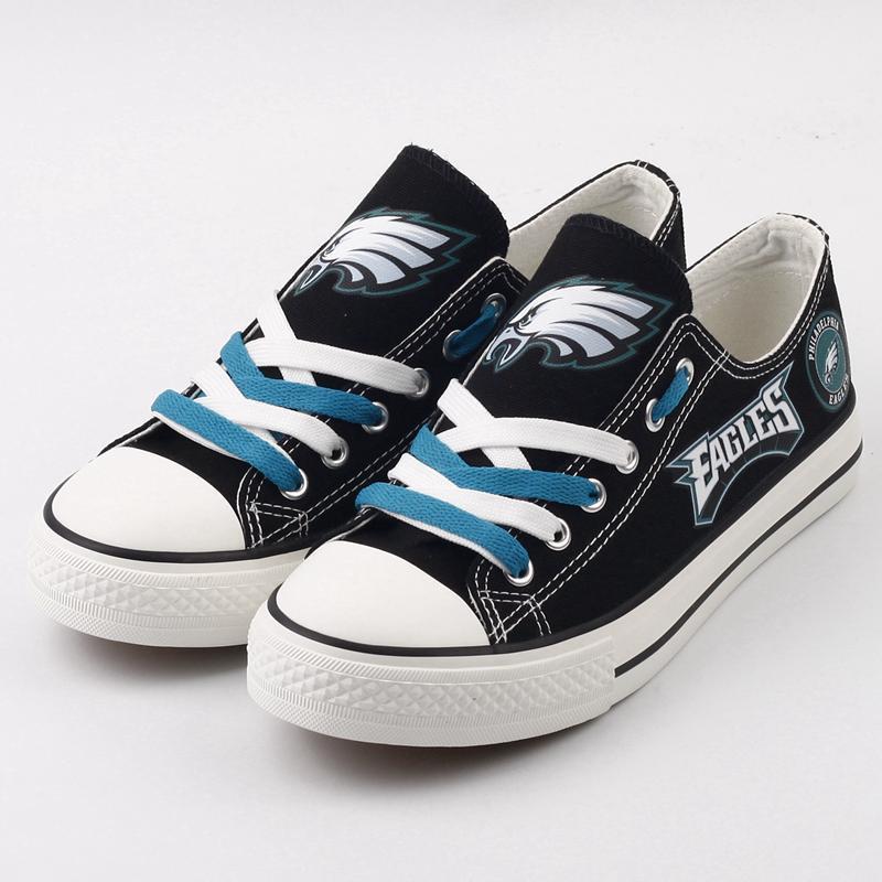 Philadelphia Eagles Custom Shoes Low Top Canvas
