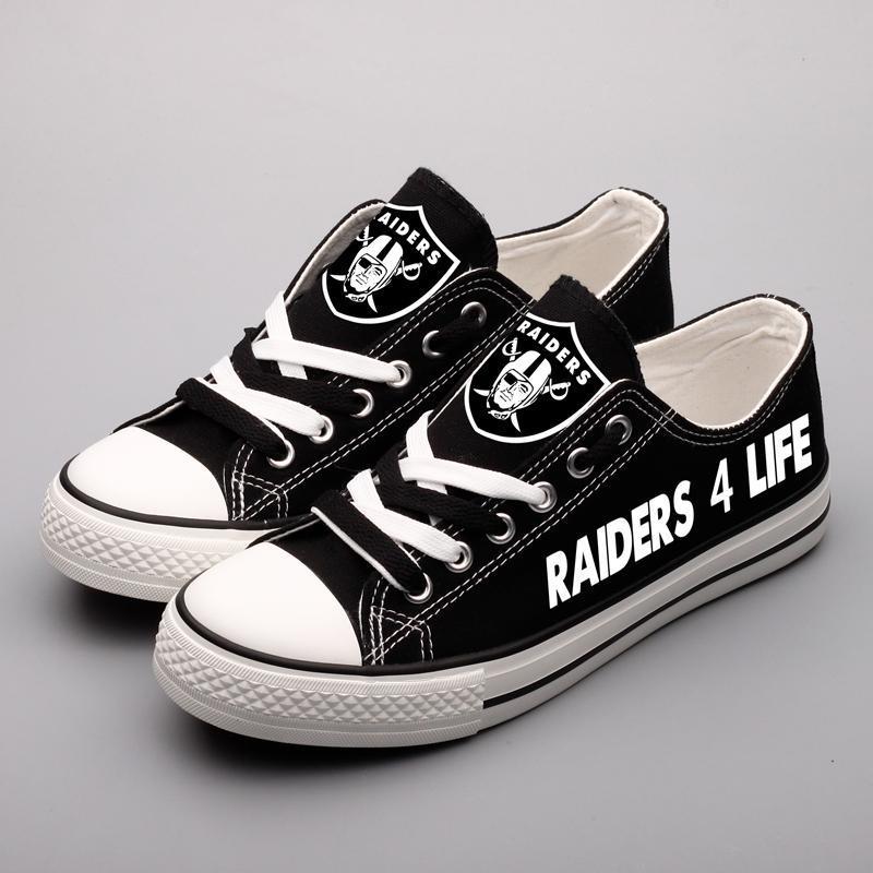 Oakland Raiders Women'-s Shoes - Raider 4 Life