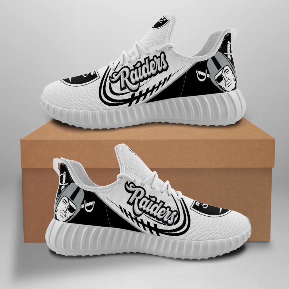 Oakland Raiders Sneakers Big Logo Yeezy