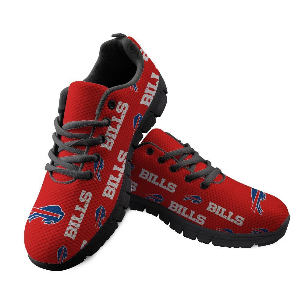 Buffalo Bills Sneakers Repeat Print Logo Low Top
