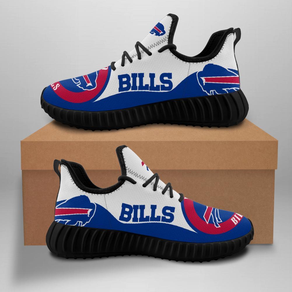 Buffalo Bills Sneakers Big Logo Yeezy