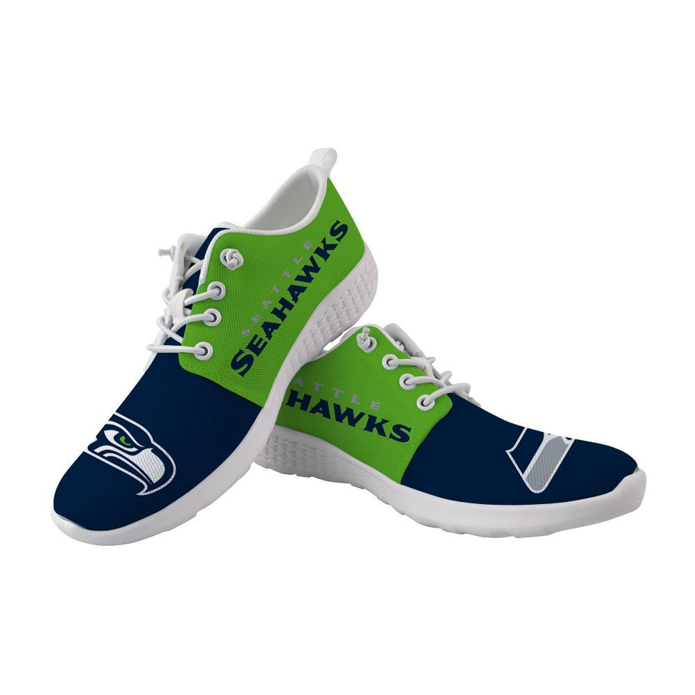 Best Wading Shoes Sneaker Custom Seattle Seahawks Shoes For Sale Super Comfort