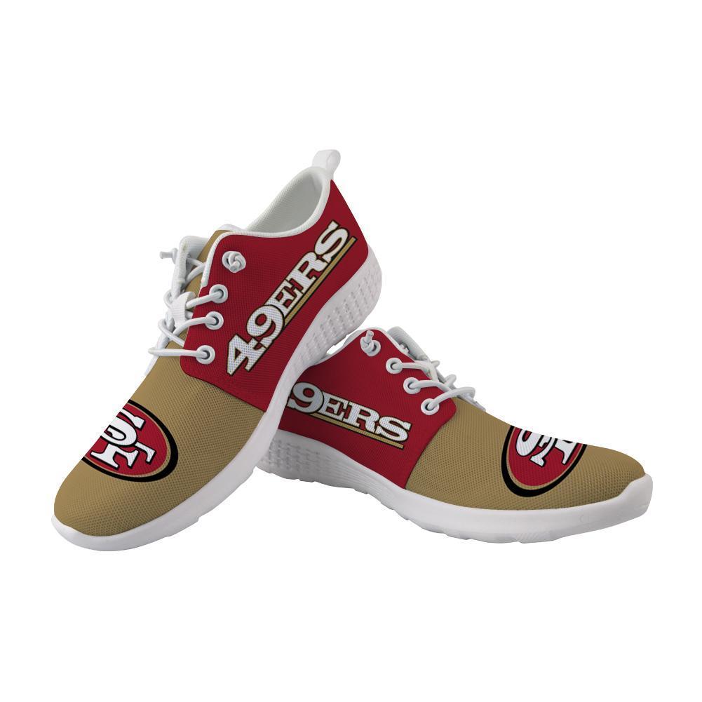 Best Wading Shoes Sneaker Custom San Francisco 49ers Shoes For Sale Super Comfort
