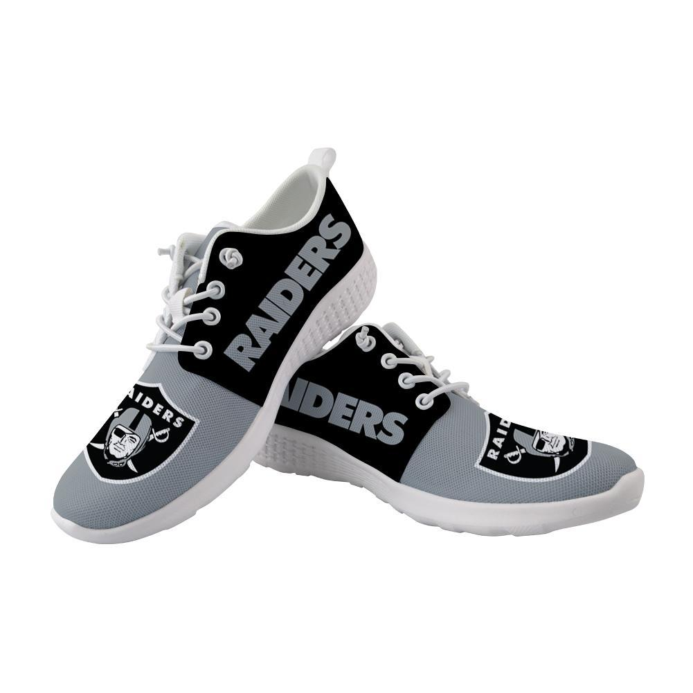 Best Wading Shoes Sneaker Custom Oakland Raiders Shoes For Sale Super Comfort