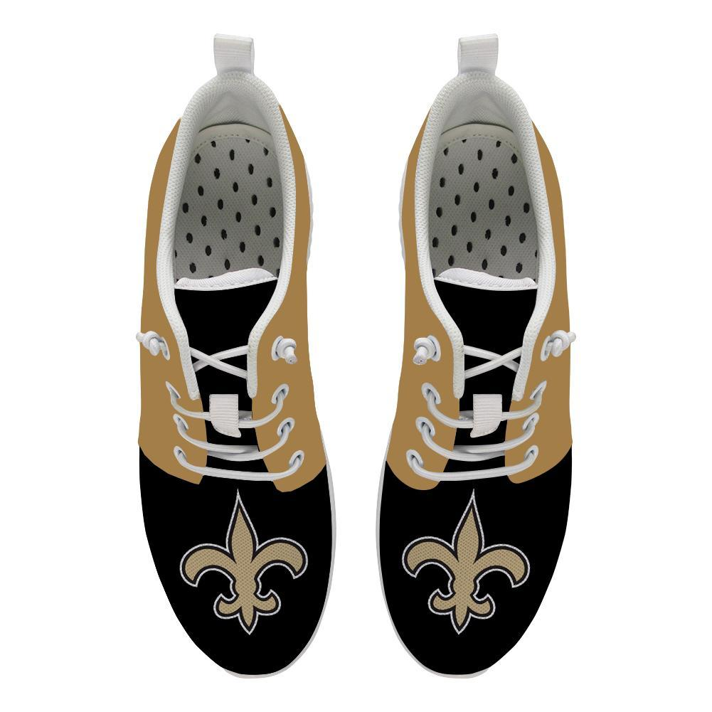 Best Wading Shoes Sneaker Custom New Orleans Saints Shoes For Sale Super Comfort