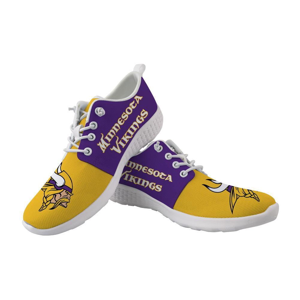Best Wading Shoes Sneaker Custom Minnesota Vikings Shoes For Sale Super Comfort