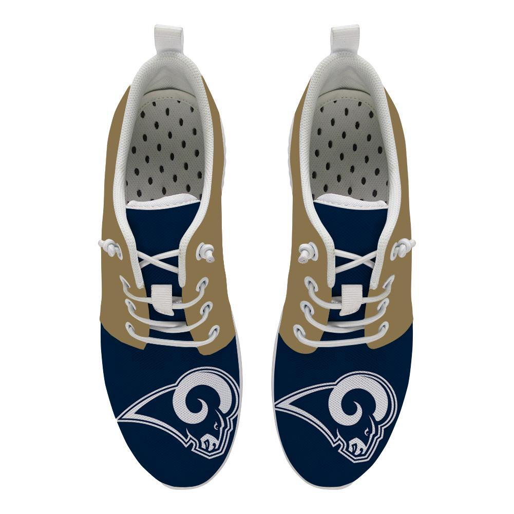 Best Wading Shoes Sneaker Custom Los Angeles Rams Shoes For Sale Super Comfort