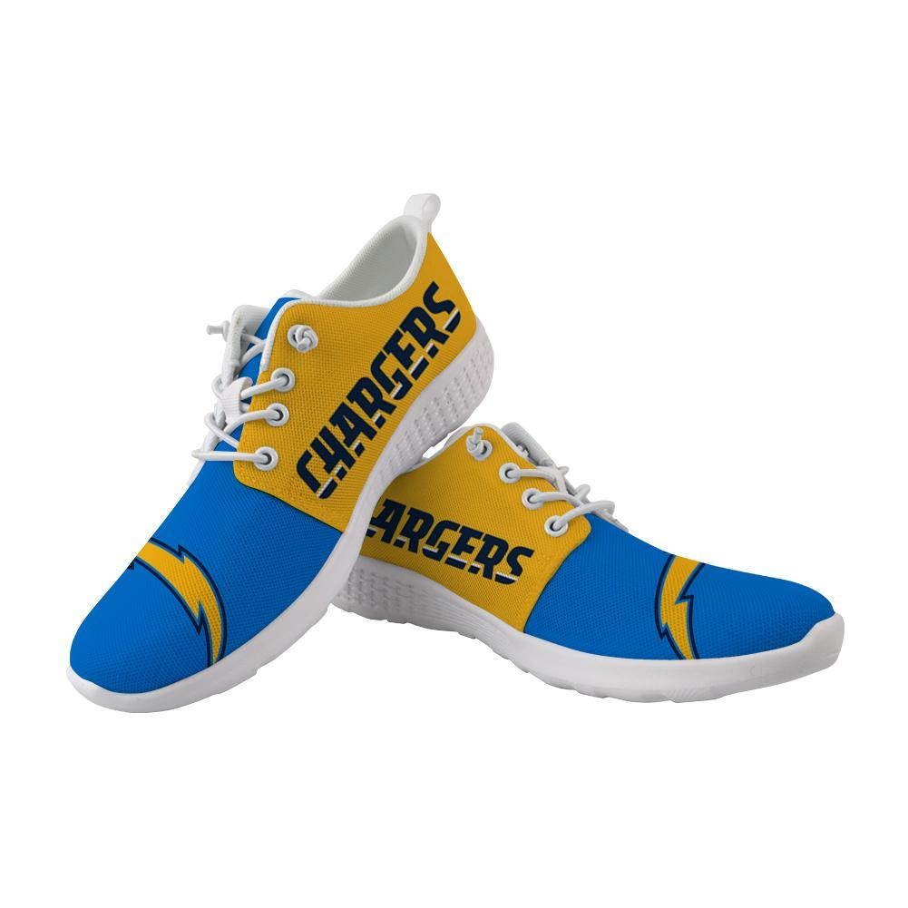 Best Wading Shoes Sneaker Custom Los Angeles Chargers Shoes Super Comfort