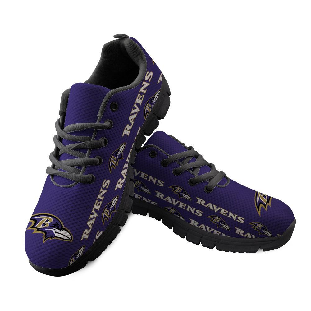 Baltimore Ravens Sneakers Repeat Print Logo Low Top