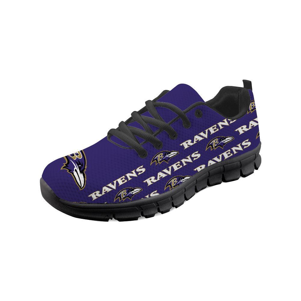 Baltimore Ravens Sneakers Repeat Print Logo Low Top