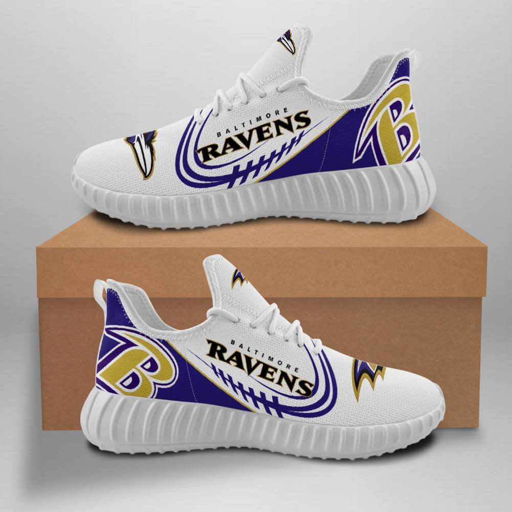 Baltimore Ravens Sneakers Big Logo Yeezy