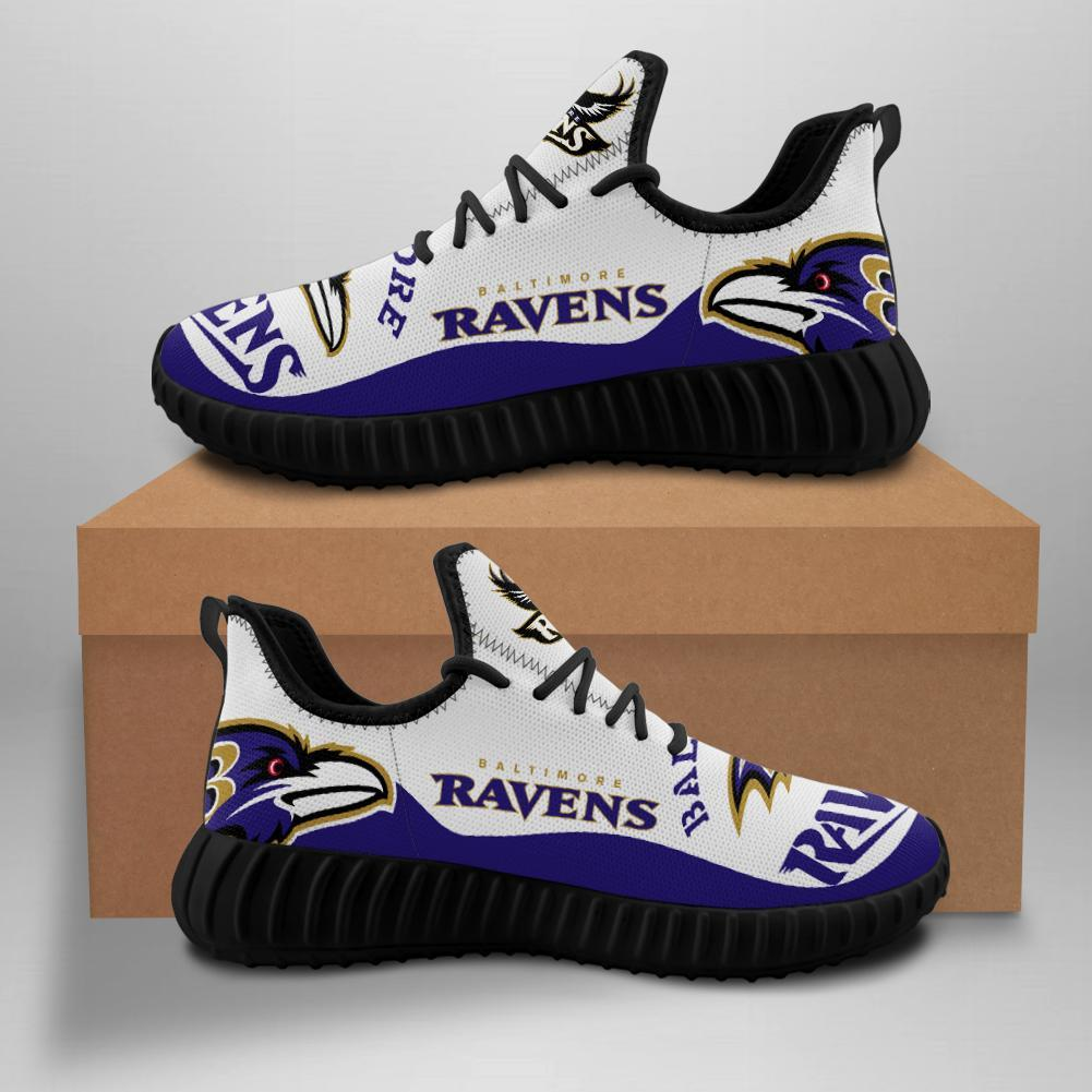 Baltimore Ravens Men'-s Sneakers Running Shoes For Sale
