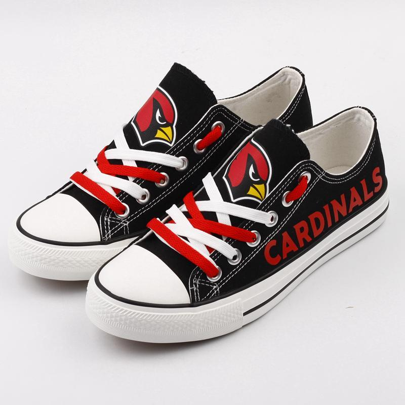 Arizona Cardinals Women'-s Shoes Low Top Canvas