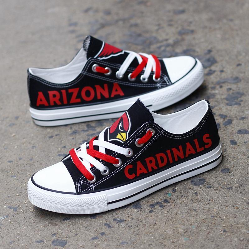 Arizona Cardinals Women'-s Shoes Low Top Canvas