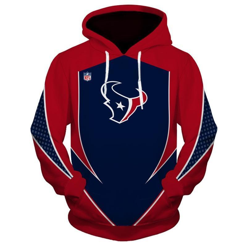 16% Off Nfl Football Houston Texans 3d Hoodiecustom Jacket Pullover