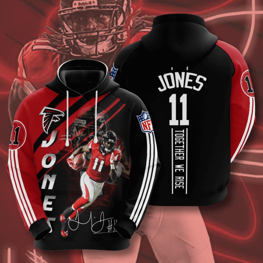 Atlanta Falcons 3d Hoodie 14