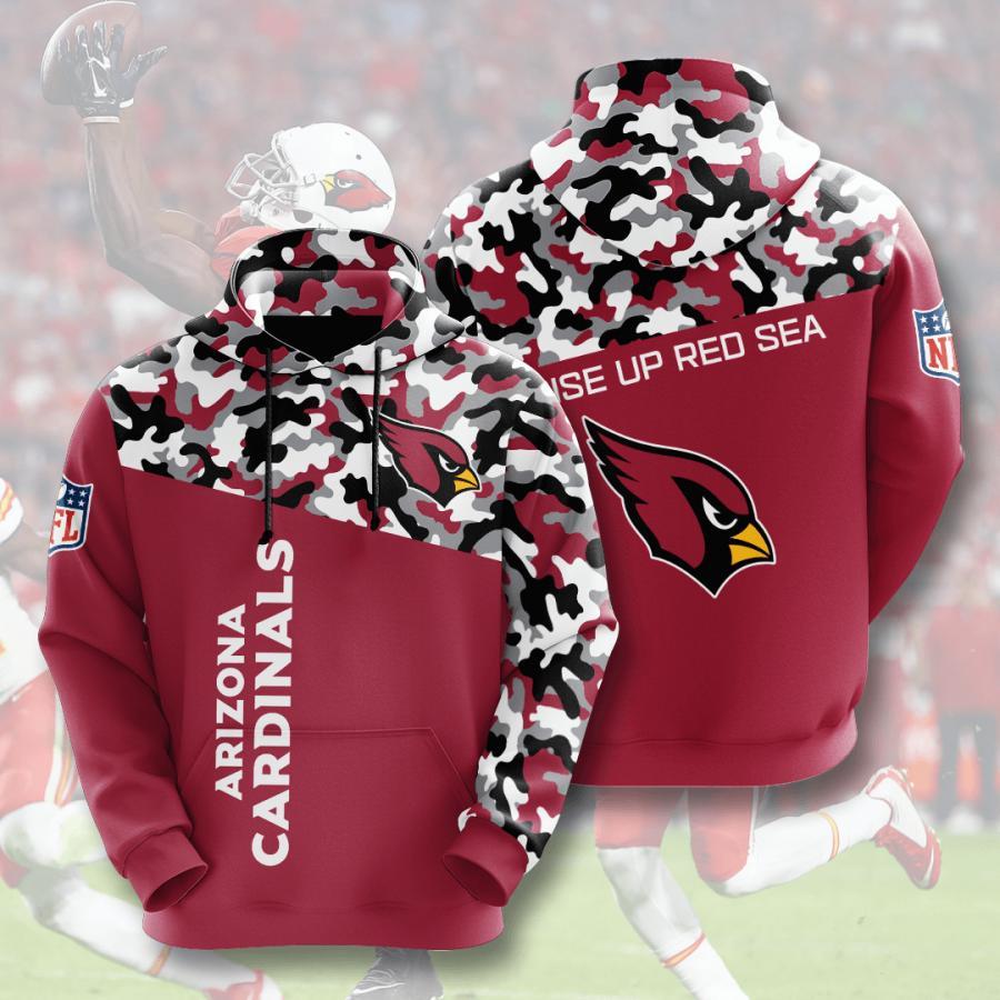 Arizona Cardinals 3d Hoodie 3