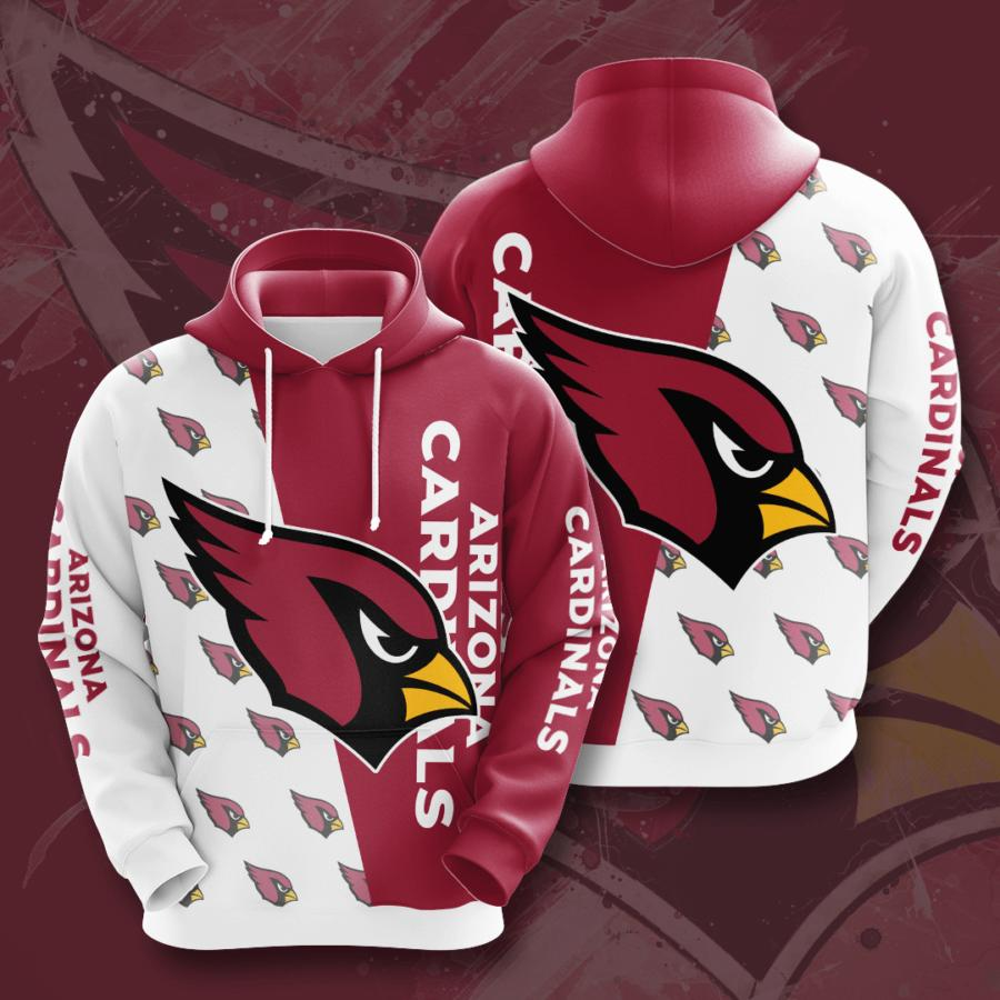 Arizona Cardinals 3d Hoodie 29